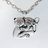 Bear and Monkey Pendant