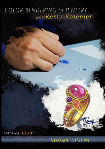 Color Rendering of Jewelry with Rémy Rotenier, DVD set