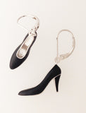 Marilyn earrings (black)