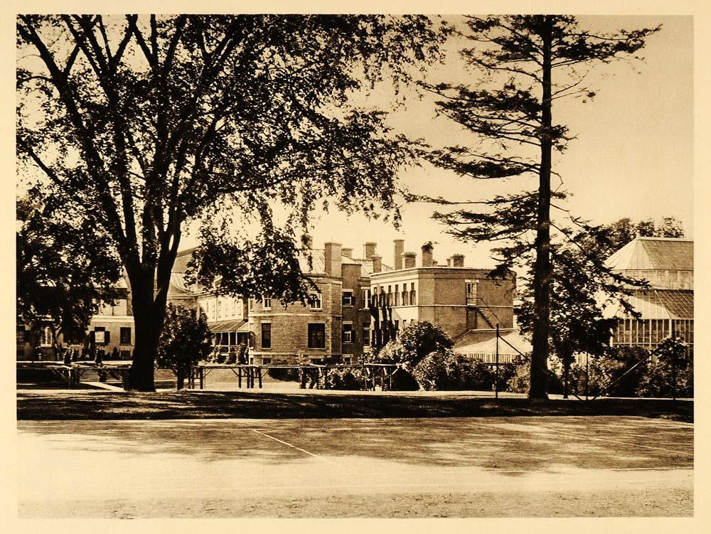 1926 Rideau Hall Governor General Residence Ottawa - ORIGINAL PHOTOGRAVURE CAN2