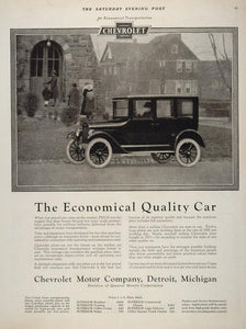 1924 Ad Chevrolet Chevy Automobile Vintage Antique Car - ORIGINAL CARS5