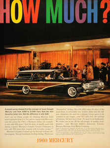 1960 Ad Lincoln Mercury Colony Park Auto Valet Parking - ORIGINAL CARS7
