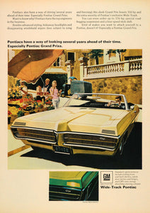 1967 Ad Tan Pontiac Grand Prixs Automobile Fruit Market - ORIGINAL CARS7
