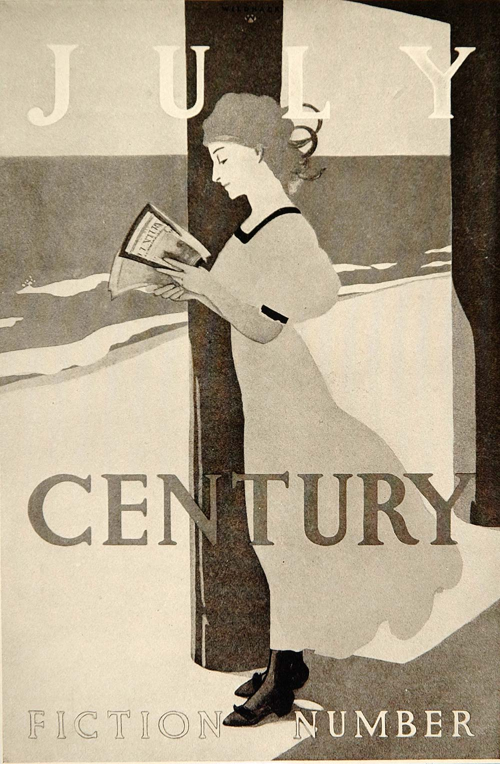 1913 Century Magazine Robert J. Wildhack Mini Poster - ORIGINAL CB1