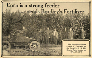 1907 Ad Fertilizer American Agricultural Chemical Co - ORIGINAL ADVERTISING CG1