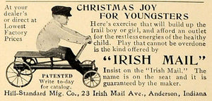 1906 Ad Irish Mail Exercise Children Hill-Standard Toy - ORIGINAL CL4