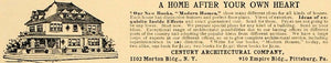 1905 Ad Century Architectural Company Empire Building - ORIGINAL ADVERTISING CL4