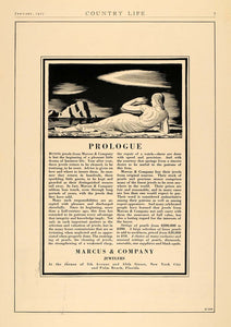 1927 Ad Marcus Jewelers Pearl Jewelry Jewels Pricing - ORIGINAL ADVERTISING CL6