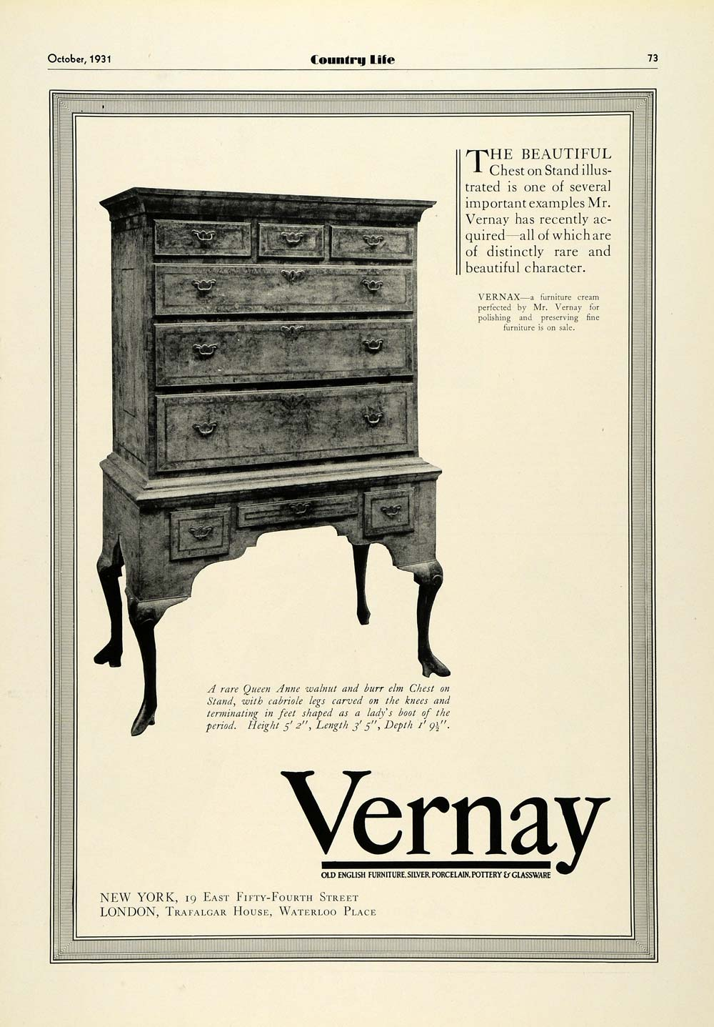 Furniture Advertising Tagged Furniture Page 5 Period Paper # Meuble Tv Chicago But