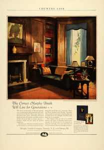 1924 Ad Murphy Varnish Woodwork Furniture Finish Housework Stanley McNeill COL3