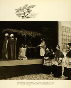 1945 Print Dijon France Monsignor Sembel Catholic Bishop Place D'Arey CON1