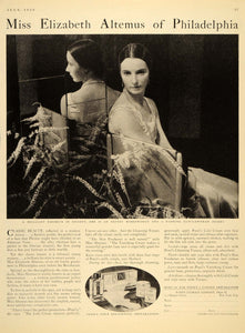 1930 Ad Pond's Extract Product Cold Cream Elizabeth Altemus Jockey DL2
