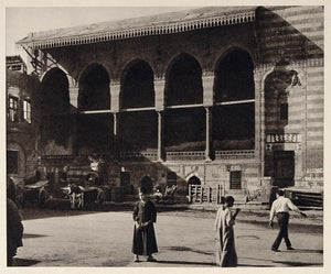 1929 Hall Judge Halle Richters Juge Giudice Cairo Egypt - ORIGINAL EGYPT