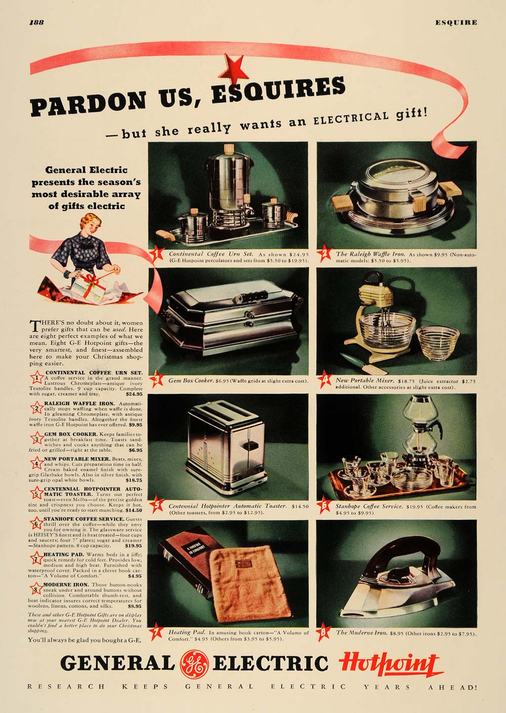 1936 Ad General Electric Kitchen Appliances Housewife - ORIGINAL ESQ1