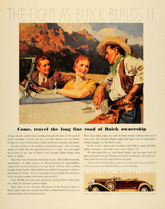 1931 Ad Buick Straight Eights Convertible Fisher Body - ORIGINAL ADVERTISING F1A