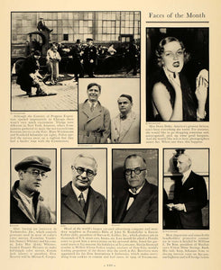 1933 Ad Weidemann Schneider Doris Duke B Collier Zion - ORIGINAL ADVERTISING F2A