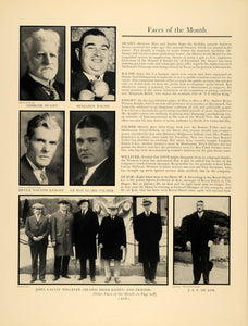 1936 Ad Swasey Balish Knight Palmer Willever De Kok - ORIGINAL ADVERTISING F5A