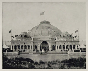 1893 Chicago World's Fair Horticultural Building Dome ORIGINAL HISTORIC FAIR3