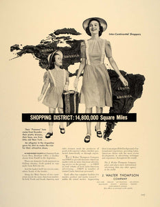 1941 Ad J. Walter Thompson Global Market Advertising - ORIGINAL ADVERTISING FT8