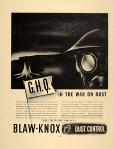 1937 Ad Blaw-Knox Dust Control Blawnox Pennsylvania - ORIGINAL ADVERTISING FT8