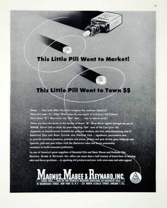 1946 Ad Magnus Mabee Reynard Essential Oil Chicago Illinois Pill FTM1