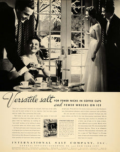 1939 Ad International Salt Scranton Sterling Coffee - ORIGINAL ADVERTISING FTT9