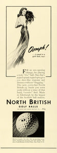 1941 Ad North British Golf Balls Golfing Equipment Price 22 Park Place New FZ5
