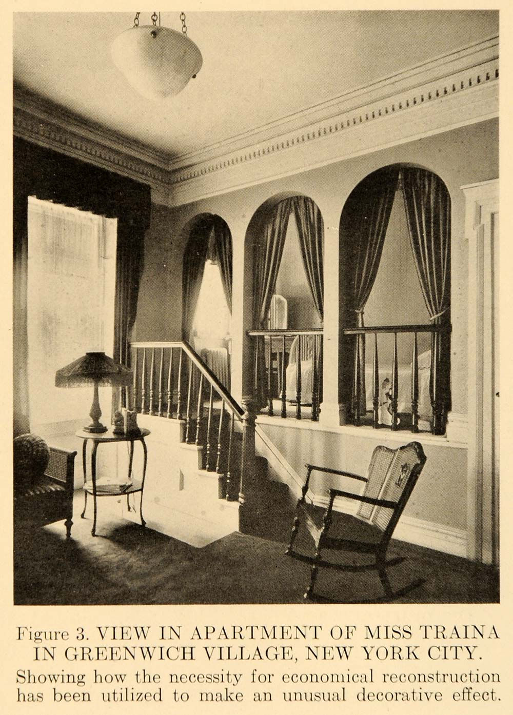 1918 Photograph Greenwich Village Interior Design Ideas - ORIGINAL GF1