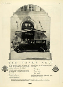 1924 Ad Motor Car Packard Eight Automobile Car Engine - ORIGINAL ADVERTISING HG1