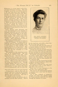 1911 Article Women Vote Rheta Dorr John Hecker Kerwin - ORIGINAL HM1