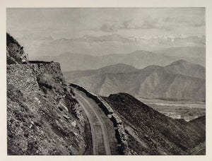1928 Banihal Pass Himalayas Mountains India Landscape - ORIGINAL IN1