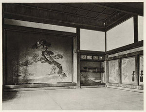 1930 Interior Imperial Castle Hall Nagoya Japan Trautz - ORIGINAL JAPAN2