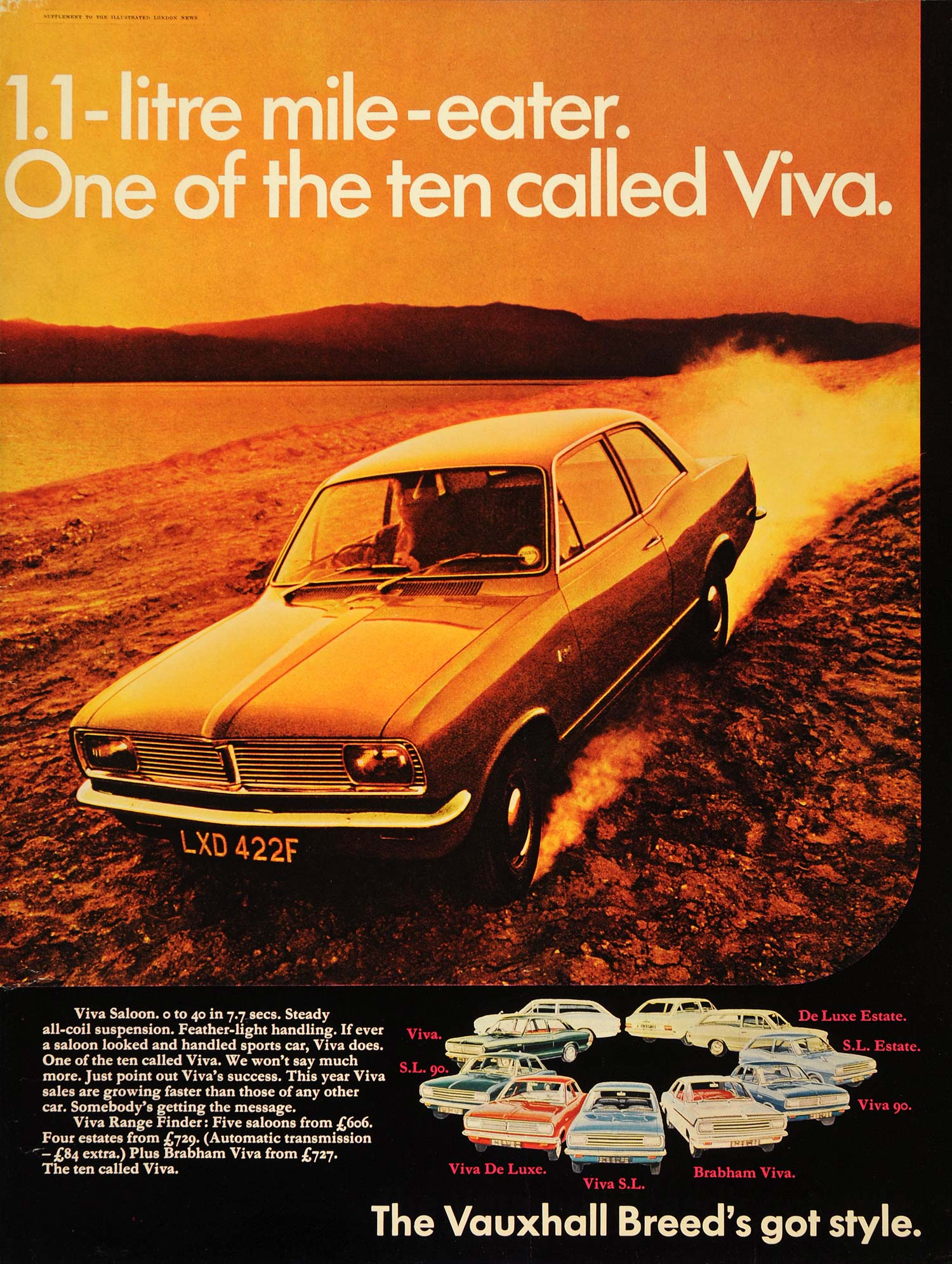 Vauxhall And I Poster