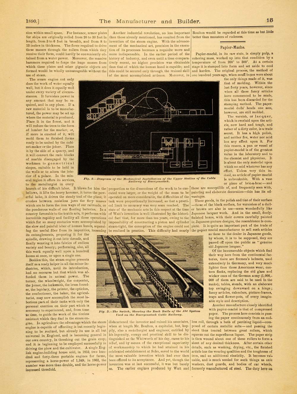 Railroads & Trains - Period Paper
