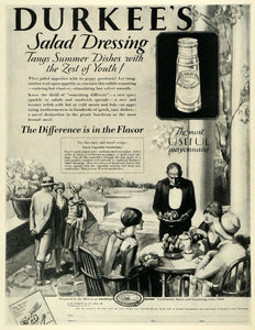 1928 Ad Durkee Salad Dressing Vegetable Sandwich Recipe - ORIGINAL MCC4