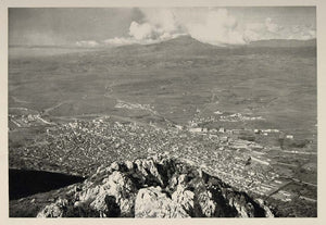 1937 Panorama View Plains Antioch Syria Photogravure - ORIGINAL PHOTOGRAVURE MD1