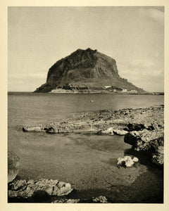 1937 Monemvassia Monemvasia Greece Photogravure NICE - ORIGINAL PHOTOGRAVURE MD2