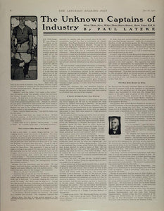 1902 Article Paul Latzke Michael Pupin Marvin I Hughitt - ORIGINAL MIX6