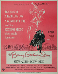 1947 Movie Ad Benny Goodman Story Steve Allen Universal - ORIGINAL MOVIE2