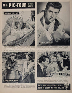 1948 RKO Movie Ads Cary Grant Ann Sothern Granger - ORIGINAL ADVERTISING MOVIE2