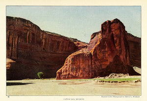 1925 Print Canyon Death Chelly National Park Arizona Edwin Wisherd NGM2