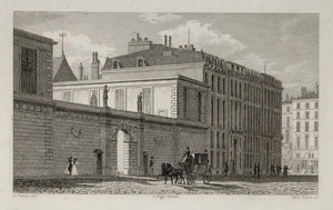 1831 Banque de France Building Paris Architecture NICE - ORIGINAL PARIS2