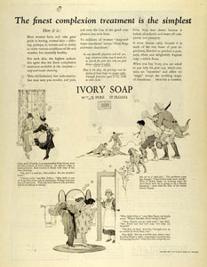 1923 Ad Ivory Soap Complexion Skin Care Personal Hygiene Sanitary Sally PHJ1
