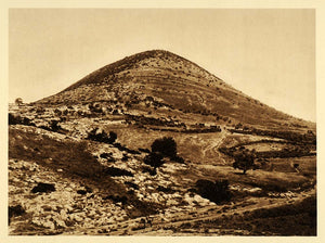 1925 Mount Tabor Lower Galilee Israel Transfiguration - ORIGINAL PS6
