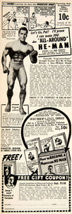 1949 Ad George Jowett Institute of Physical Culture Bodybuilding Health PSC1