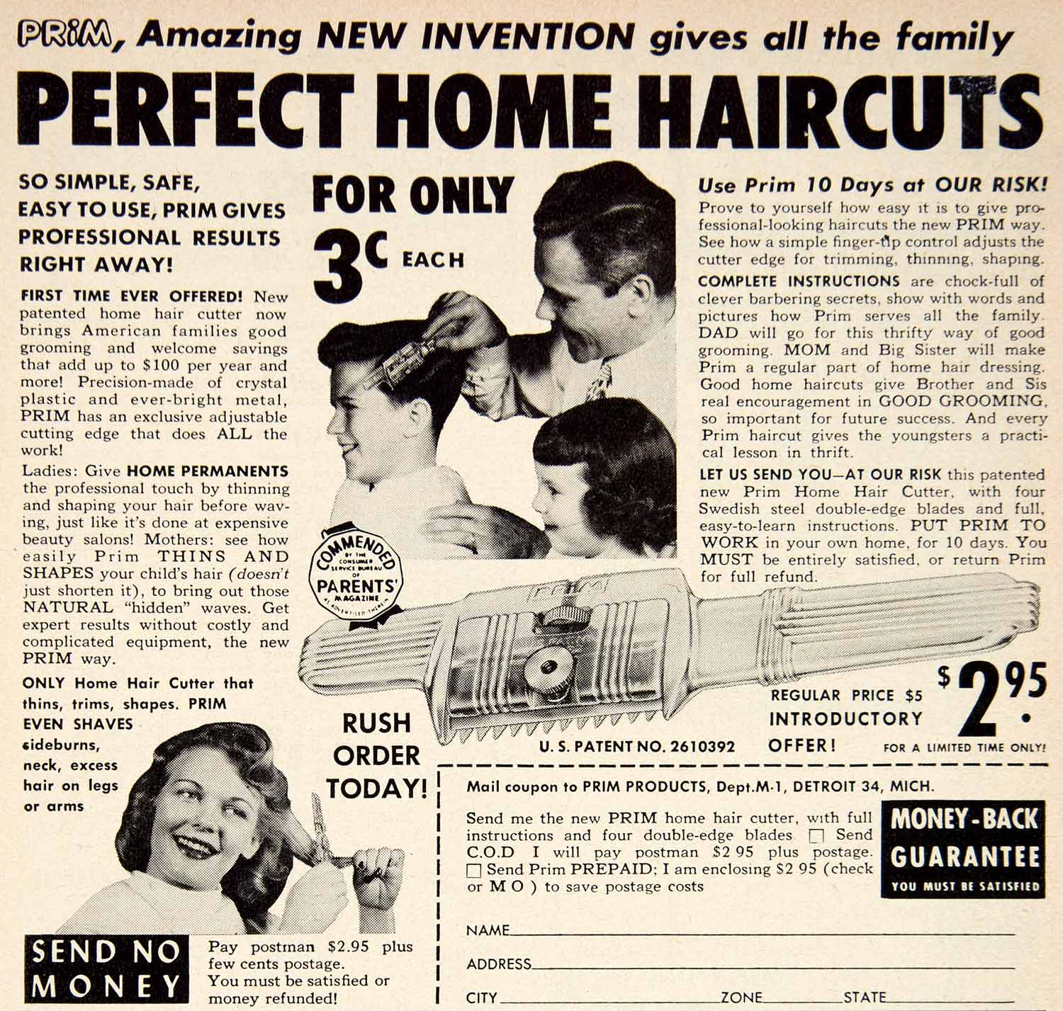 Haircut coupons toledo ohio - 1953 Ad Prim Products Detroit Haircut Hairdressing Children Thinner Layers Psc2