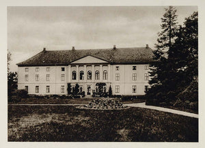 1924 Wedel Jarlsberg Mansion Estate Tonsberg Norway - ORIGINAL PHOTOGRAVURE SC1