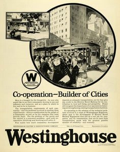 1922 Ad Westinghouse Electric Manufacturing Engineering Euclid Street SCA3