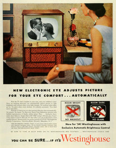"1953 Ad Westinghouse Electric Corp Maybridge Model 782k21 21"" Television TV SEP6"