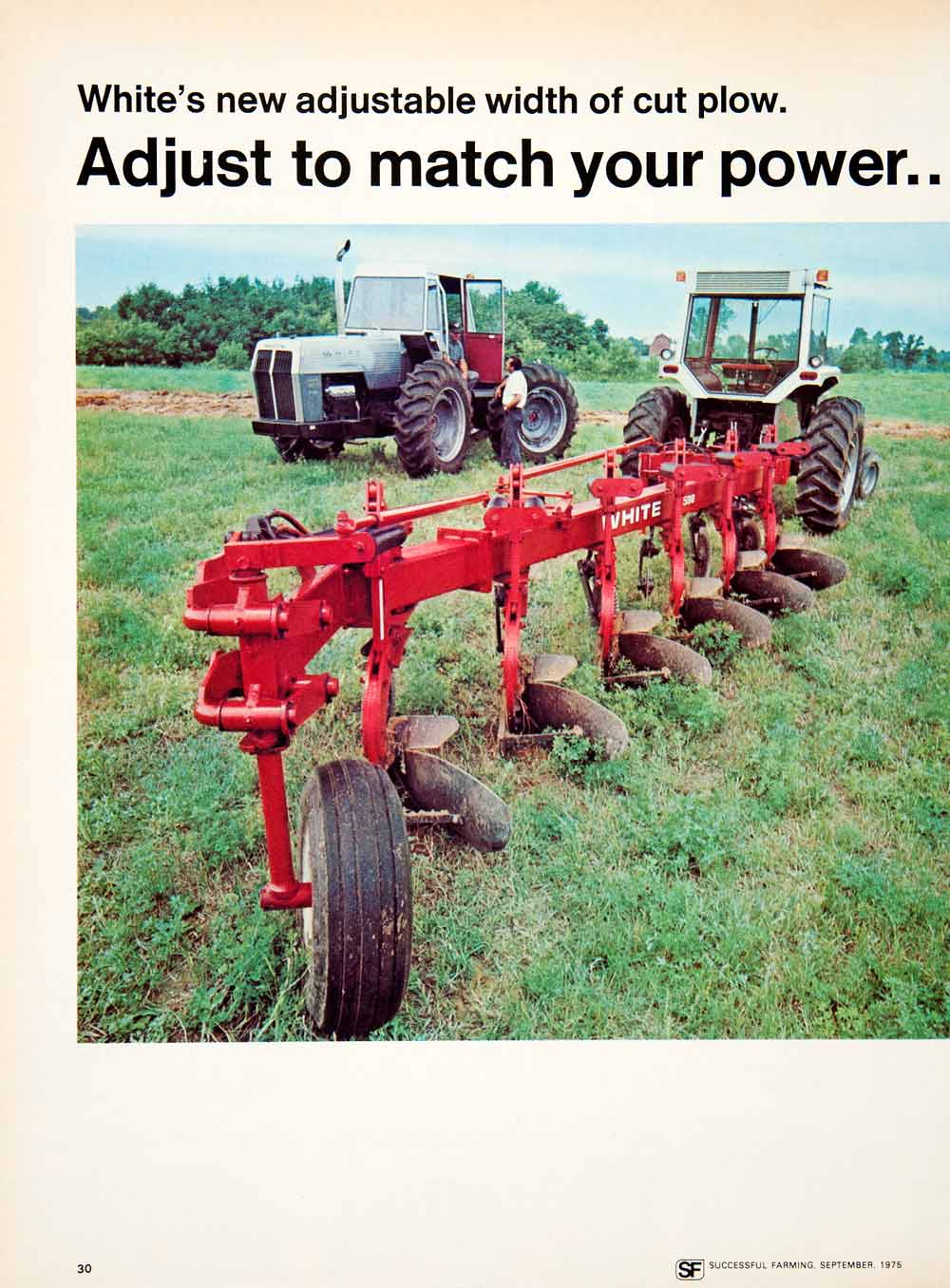 1975 ad white motor farm machine tractor attachment harrow 1975 ad white motor farm machine tractor attachment harrow agriculture 598 sf2 reheart Images